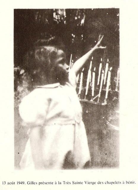 Prière au cher petit Gilles Chapelets